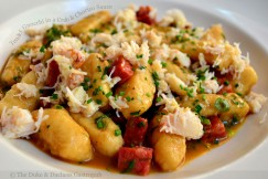 Tender Gnocchi in a Crab and Chorizo Sauce