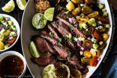 Tender Pineapple Marinated Grilled Flank Steak