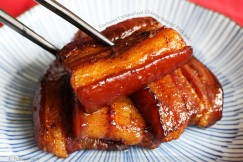Unctuous Caramelized Chinese Braised Pork Belly