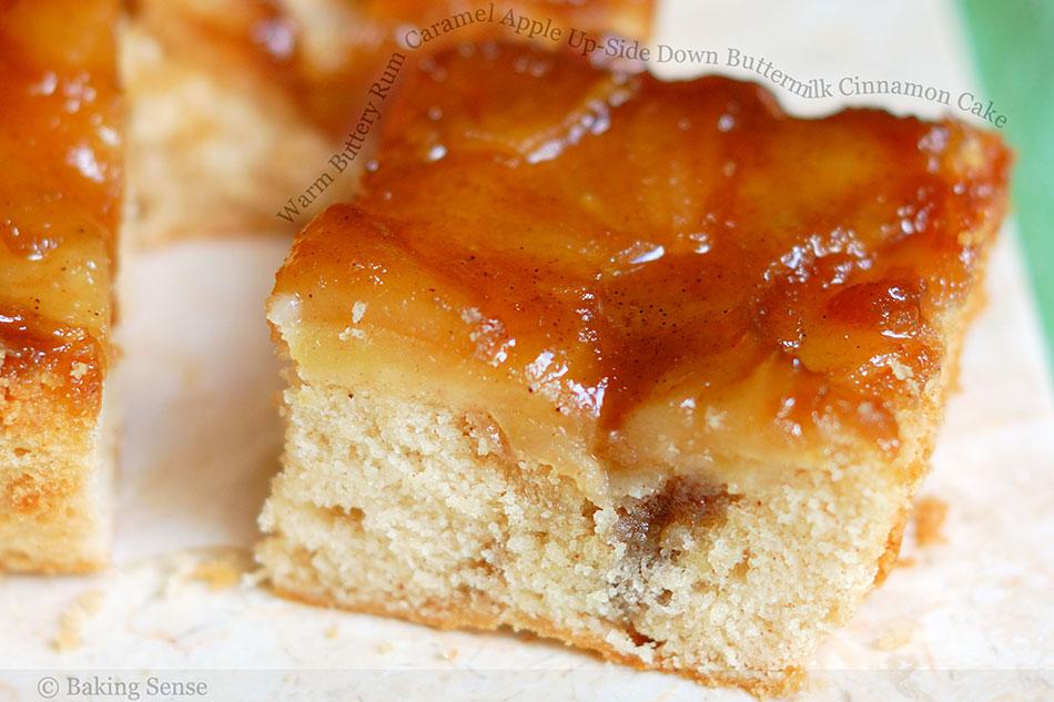 Caramel Cinnamon Apple Cake