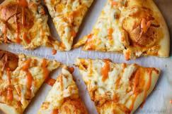 Zesty Buffalo Chicken Pizza